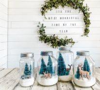 Winterlandschaft basteln – weihnachtliche Ideen, fantastisch einfache Anleitungen und Tipps