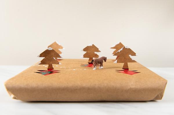 Winterlandschaft basteln – weihnachtliche Ideen, fantastisch einfache Anleitungen und Tipps geschenk ideen anleitung