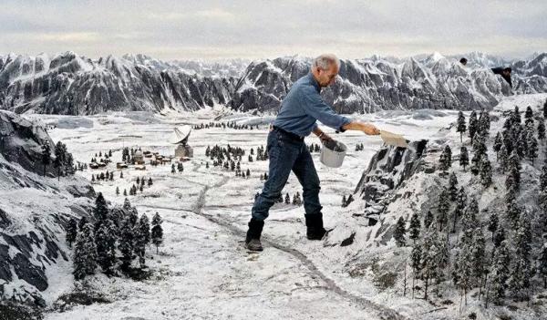 Winterlandschaft basteln – weihnachtliche Ideen, fantastisch einfache Anleitungen und Tipps riesige landschaften mini kreativ