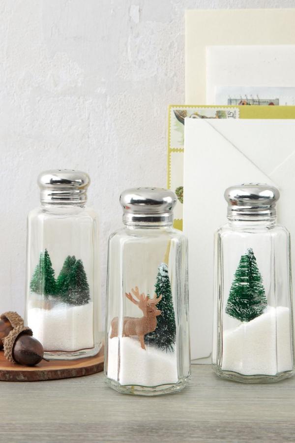 Winterlandschaft basteln – weihnachtliche Ideen, fantastisch einfache Anleitungen und Tipps salzstreusel landschaften lustig
