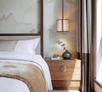 Zen Schlafzimmer, wo die harmonische Raumgestaltung die erholsame Nachtruhe fördert