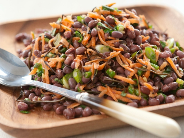 adzukibohnen salat zubereiten