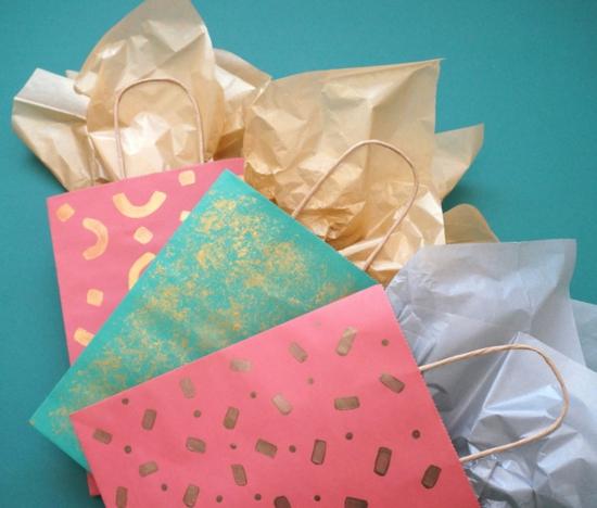 diy verpackungen geschenktüte basteln
