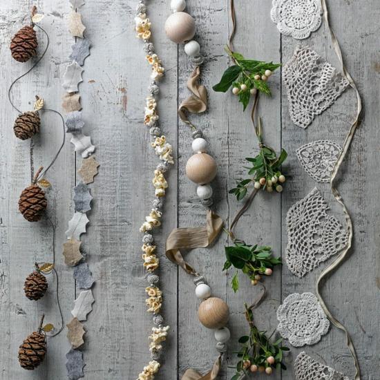 elengante günstige weihnachtsdeko selber machen