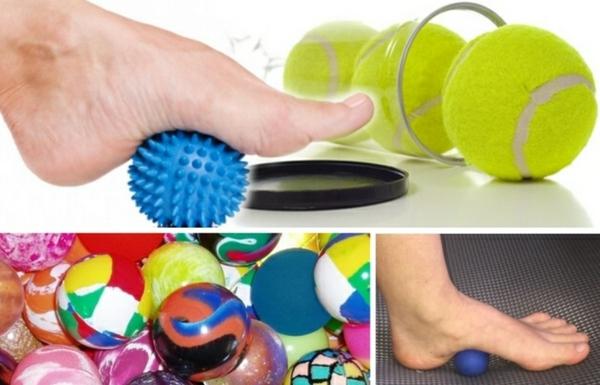 faszientraining mit tennisball faszienball