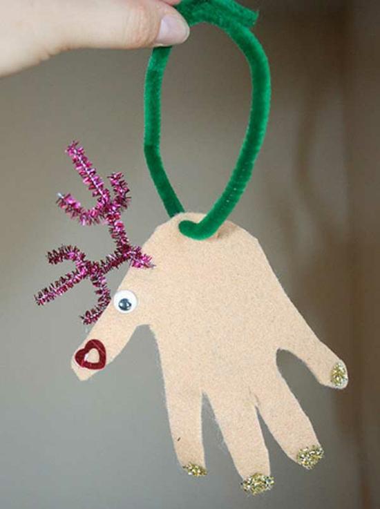 günstige weihnachtsdeko basteln mit kindern