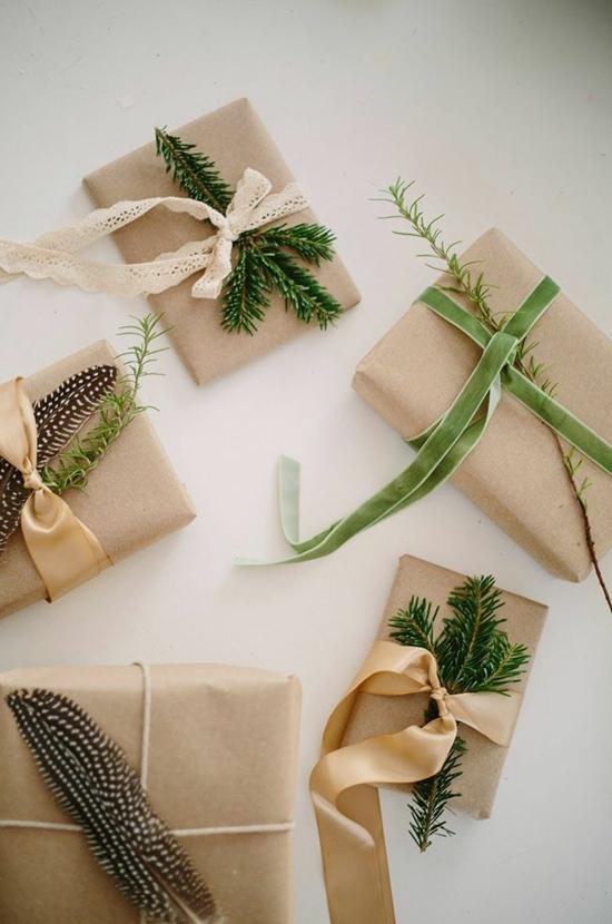 günstige weihnachtsdeko geschenke verpacken