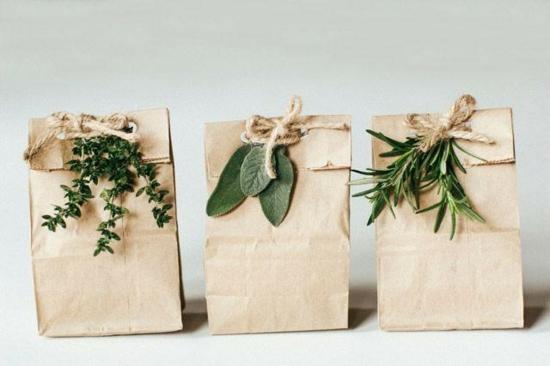 geschenktüte basteln puristisch