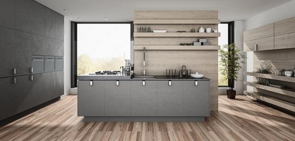 küchentrends 2021 graue fronten