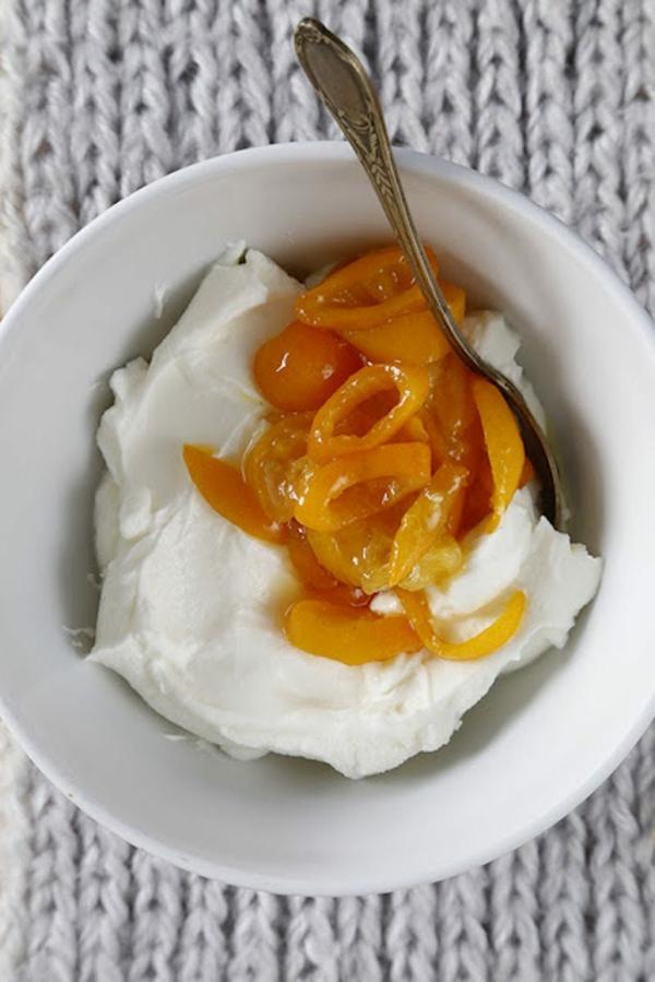 kumquat marmelade mit quark