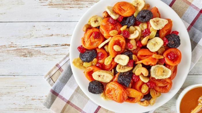 marzipan selber machen ohne zucker getrocknete früchte
