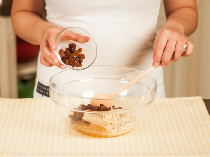marzipan selber machen ohne zucker zutaten bratapfel mit marzipan füllung