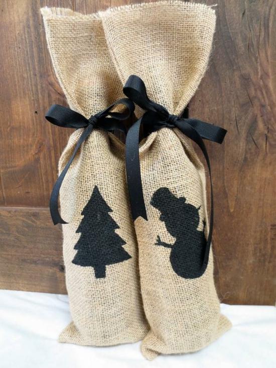 minimalistische geschenktüte basteln