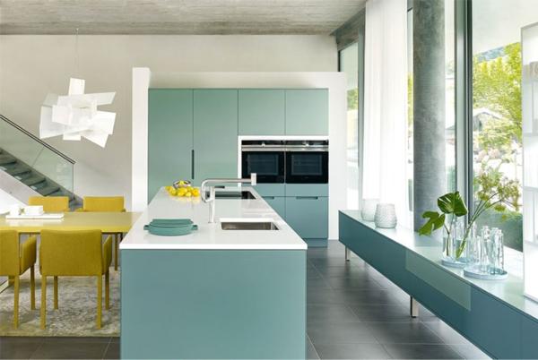 trendfarbe salbeigrün küchentrends 2021