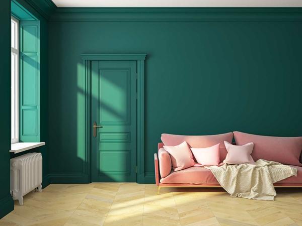 Trendfarben 2022 das eigene Zuhause damit noch wohnlicher