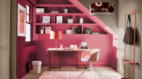 trendfarben 2021 home office wohntrend