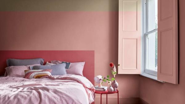 trendfarben 2021 schlafzimmer streichen