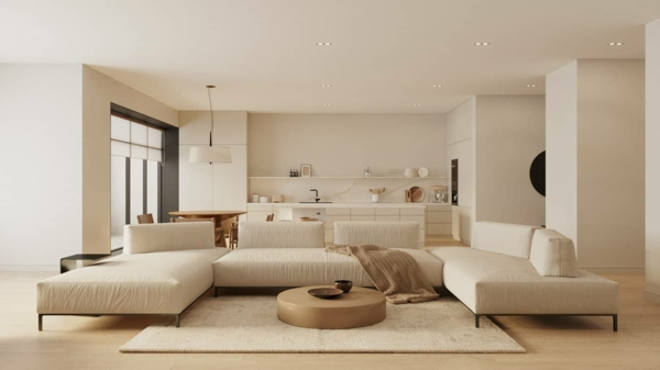 trendfarben 2021 wohnzimmer beige farbtöne