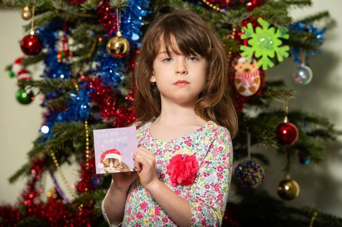 weihnachtskarte schreiben lustige Weihnachtssprüche für Kinder