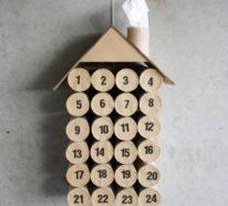 Basteln mit Toilettenpapierrollen zu Weihnachten – kreative Upcycling Ideen und Anleitung