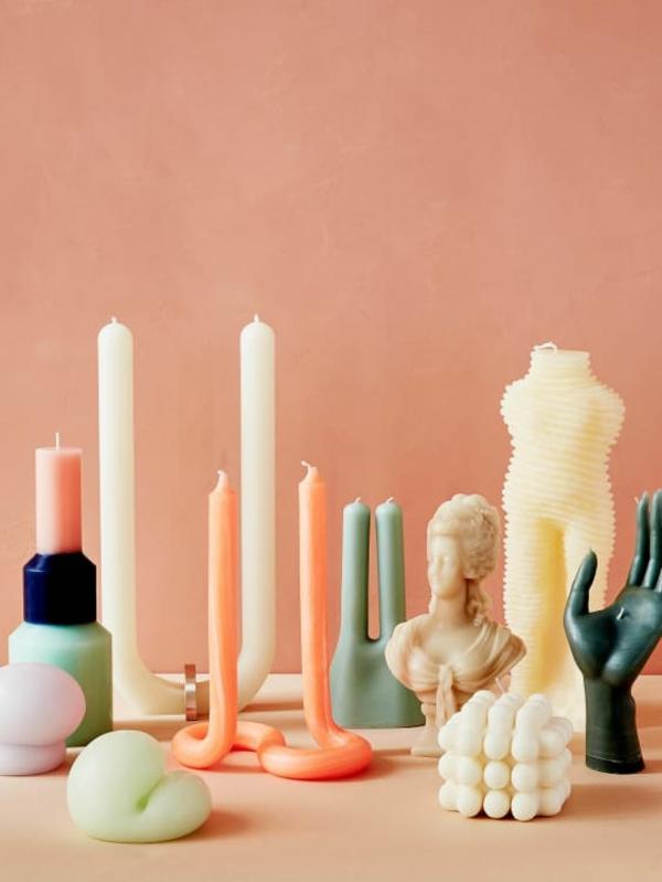 DIY gedrehte Kerzen So machen Sie fabelhafte Twisted Candles selbst