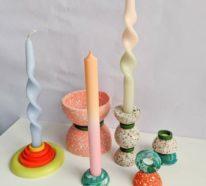 DIY gedrehte Kerzen: So machen Sie fabelhafte Twisted Candles selbst!
