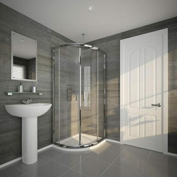 Duschkabinen und Duschabtrennung enkleines Bad einrichten 4