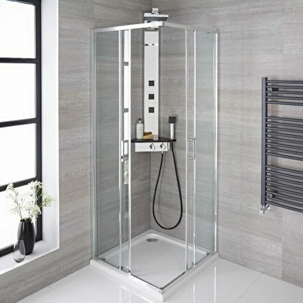 Duschkabinen und Duschabtrennung enkleines Bad einrichten 6