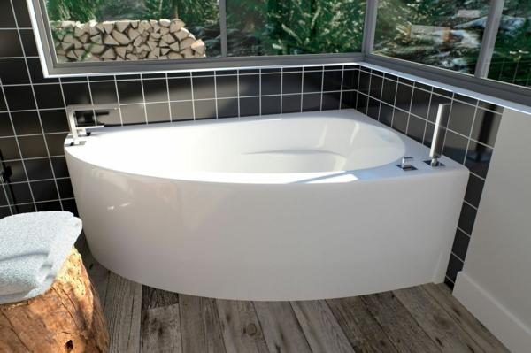Eckbadewanne Vorteile und Extras Eckwannen kleines Badezimmer Eckwanne