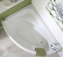 Eckbadewanne – die clevere Lösung fürs kleine Badezimmer