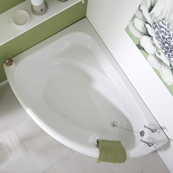 Eckbadewanne - die clevere Lösung fürs kleine Badezimmer Eckwanne