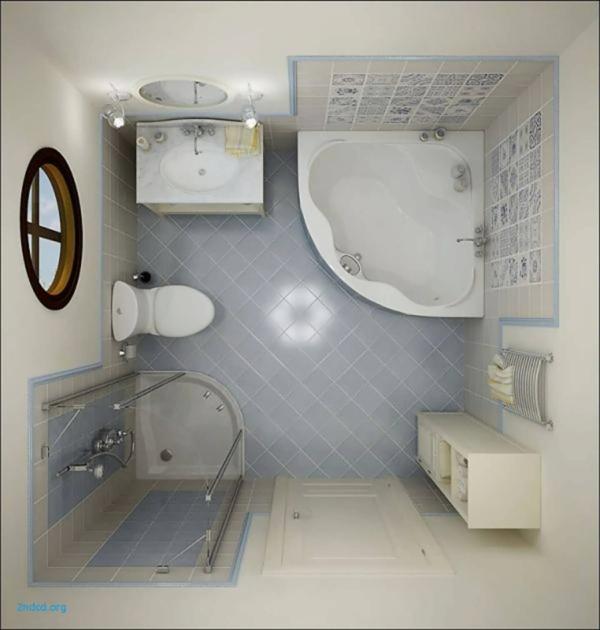 Eckbadewanne - die clevere Lösung fürs kleine Badezimmer kleines Bad einrichten