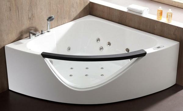 Eckbadewanne - die clevere Lösung fürs kleine Badezimmer moderne Eckwanne