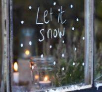 Fensterbilder basteln zu Weihnachten – zauberhafte Ideen und Anleitungen