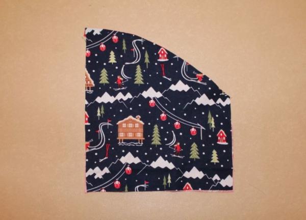 Festliche Bestecktaschen zu Weihnachten selber nähen Schritt-für-Schritt-Anleitung Schritt3
