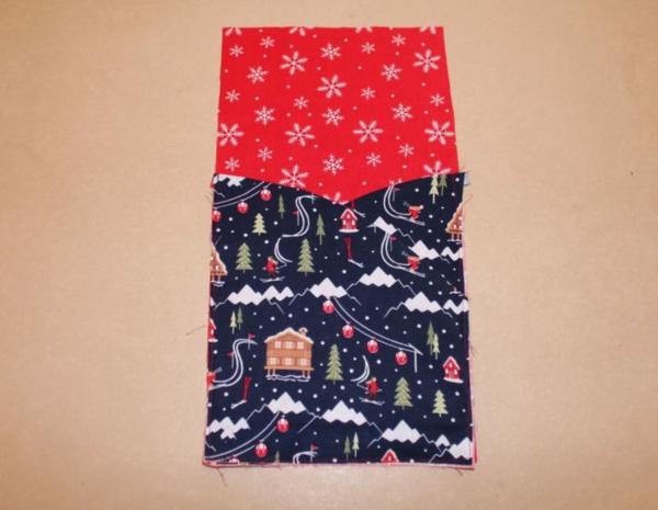 Festliche Bestecktaschen zu Weihnachten selber nähen Schritt-für-Schritt-Anleitung Schritt4