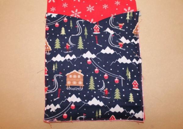 Festliche Bestecktaschen zu Weihnachten selber nähen Schritt-für-Schritt-Anleitung Schritt5