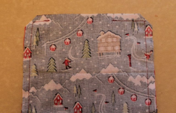 Festliche Bestecktaschen zu Weihnachten selber nähen Schritt-für-Schritt-Anleitung Schritt7