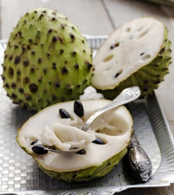 Gesündestes Obst Top 5 der nahrhaftesten Sorten Cherimoya gesund lecker