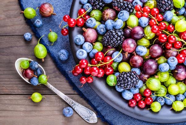 Gesündestes Obst Top 5 der nahrhaftesten Sorten gesundes obstsalat schön bunt