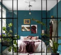 Glaswände im Schlafzimmer – gewagte Ideen, die Ihrem Zuhause mehr Eleganz verleihen