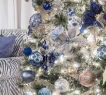 Weihnachten und Silvester in Blau und Silber feiern – interessante Ideen für Sie!