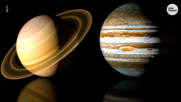 Η σύνδεση του Δία και του Κρόνου πλησιάζει, αλλά μια απόσταση 660 εκατομμυρίων χιλιομέτρων
