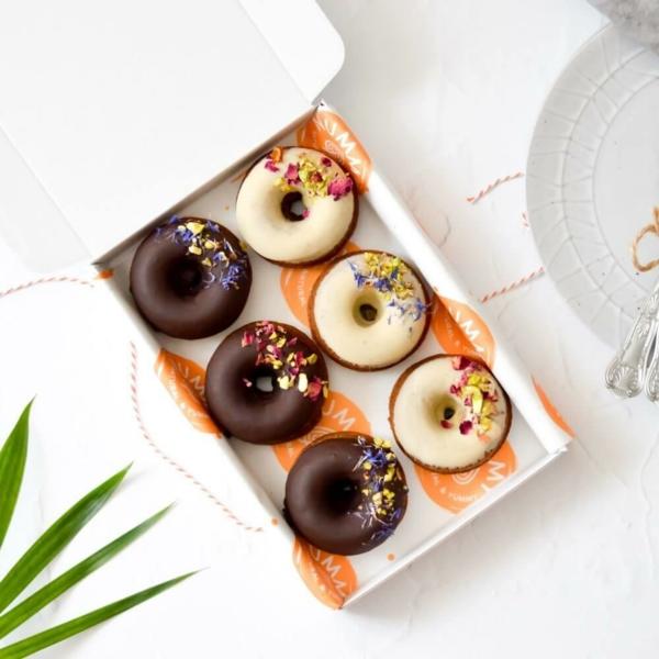 Nachhaltige Weihnachtsgeschenke 12 Ideen Weihnachtsfest Süßigkeiten Donuts