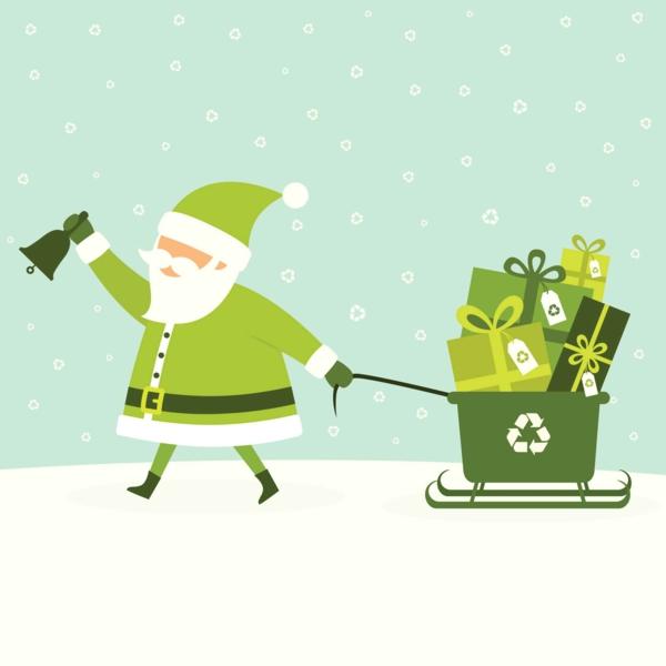 Nachhaltige Weihnachtsgeschenke 12 Ideen grünes Weihnachtsfest