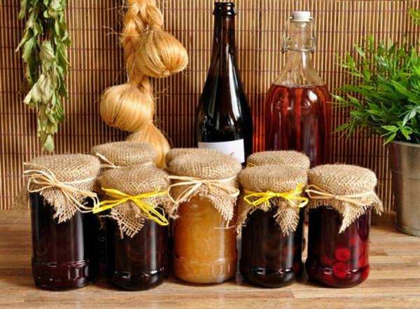 Nachhaltige Weihnachtsgeschenke 12 Ideen selbstgemachte Marmalade