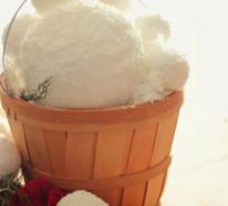 Schneebälle bringen das gewisse Etwas in Ihre Winterdekoration zu Hause