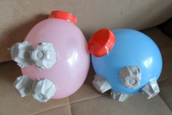 Sparschwein basteln – So haben Sie zu Silvester bestimmt Schwein ballons beine nase anleitung