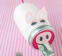 Sparschwein basteln – So haben Sie zu Silvester bestimmt Schwein