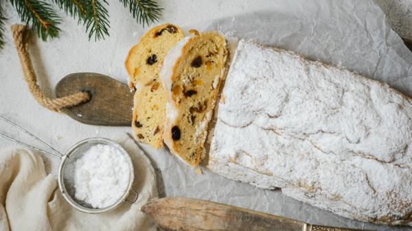 Stollen backen zu Weihnachten Christstollen backen Rezept